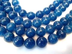 batch 10strands 4 6 8 10 12mm natural Jade Beads Round Ball black jet dark blue sappphire blue space