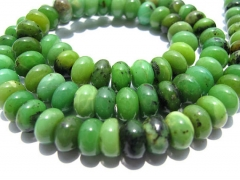 wholesale 5strands 3-12mm natural chrysoprase gemstone Australia jade green heishi rondelle abacus round loose bead