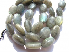 2strands 8-20mm genuine labradorite beads  oval egg smooth blue jewe