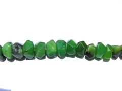 2strands 5x8mm natural chrysoprase gemstone Australia jade green heishi rondelle abacus faceted loos