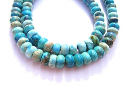 2strands 3-14mm Sea Sediment Imperial Jasper stone Round wheel rondelle jewelry beads