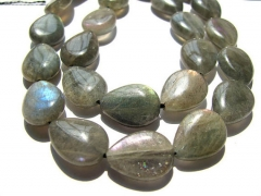 2strands 10x14mm genuine labradorite beads high quality teadrop drop blue jewelr