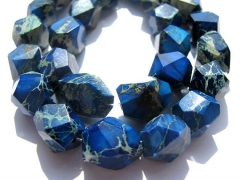10-35mm full strand high quality Imperial Jasper Beads freeform nuggets faceted blue green purple Gemstone Bead Wholesal
