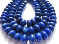 "wholesale lapis lazuli charm beads rondelle abacus blue jewelry bead 6x12mm ---2strands 16""/per"