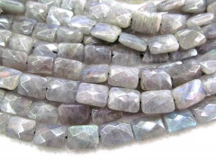 2strands 8x12-13x18mm labradorite stone   genuine labradorite beads rectangle faceted blue jewelry beads
