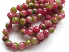 Wholesale 2strands 6 8 10 12mm Jade Beads Round Ball Faceted Cherry Fuchsia Pink Red Green Asssortme