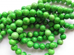 5strands 2-12mm turquoise stone turquoise beads round ball green olive assortment necklace loose beads