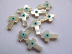 Shell bead 50pcs 4x8 5x10 7x14mm Genuine MOP Shell mother of pearl Evil Eyes Marquise cross butterfl