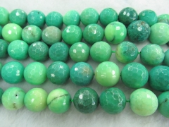 High Quality 2strands 6-16mm Natural Turquoise stone Round Ball Lime Green Yellow Black spacer Bead