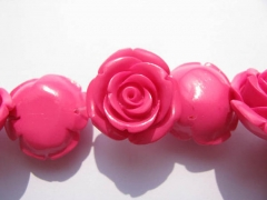 wholeslae 2strands 6-15mm Acrylic jewelry gergeous Resin Platic bead resin jewelry rose fluorial rainbow carved jewelry beads
