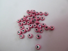 pink red MOP Shell mother of pearl Clove cross hamsa Round Coin Turquoise blue evil eyes black White