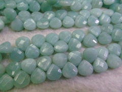 high quality Natual Amazonite stone,Amazone bead,teadrop drop faceted beads 6-12 mm full strand