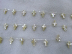 wholesale 5strands 9charm13mm Genuine MOP Shell ,Pearl Shell cross ,cross shell white brown jewelry
