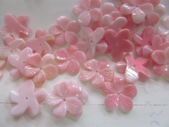 20pcs 15mm high quality Genuine Pink Queen Conch Shell ,Pearl Shell Rose flower fluorial point Cup C