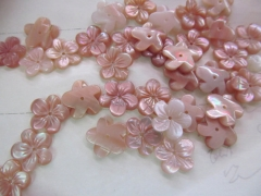 8 10 12mm 20pcs purple shell beasd, Pink Queen Conch Shell ,Pearl Shell Rose flower fluorial point C