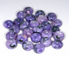 12x8MM Charoite Gemstone Grade A Purple Rondelle Slice 12x6MM-12x8MM Loose Beads 16inch