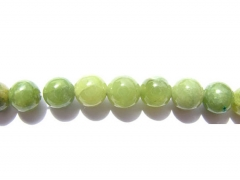 4-14mm full strand Natural Peridot olive Chrysoprase beads gems Round Ball green For Necklace Gemstone Loose beads