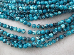 order list--6strands 6- 8mm Sapphire blue Matrix Turquoise Gemstone Round Ball 4-14mm Loose beads green aqua blue black neckalce